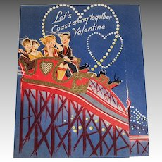 Let's Coast Along Together Valentine Card