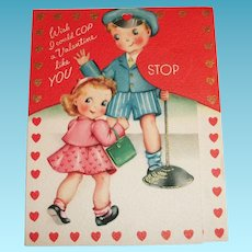 Wish I Could COP A Valentine Like YOU Valentine Card