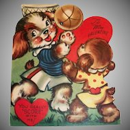 You Really Score With Me! Mechanical Valentine - 1950
