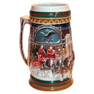 Budweiser: Home For The Holidays 1997 Holiday Stein