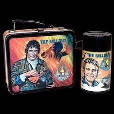 The Fall Guy Metal Lunchbox & Thermos - 1981
