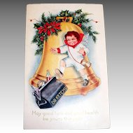 Whitney: May Good Luck And  Good Health Be Yours This Year Postcard