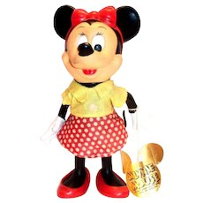 Disney: Minnie Mouse Plastic Doll