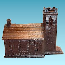Little Brown Church In The Vale Metal Bank