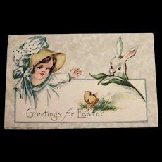 Gibson: Greetings For Easter Postcard
