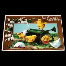 J. B. & Co.: Best Easter Wishes Vintage Postcard