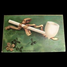 "Int'l Art Publishing Co.: Ellen Clapsaddle: ""Erin Go Bragh"" Postcard"