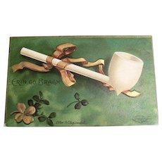 """Int'l Art Publishing Co.: Ellen Clapsaddle: """"Erin Go Bragh"""" Postcard"""