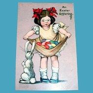 Raphael Tuck: An Easter Offering Postcard - Gassaway