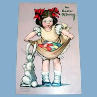 Raphael Tuck: An Easter Offering Postcard - Gassaway