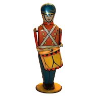 Wolverine No.27 Drum Major Windup Toy Tin Soldier