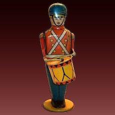 Wolverine No.27 Drum Major Windup Toy Tin Soldier