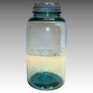 Boyd's Perfect Mason Blue Half Gallon Mason Jar