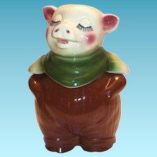 Shawnee Pottery Smiley Cookie Jar & Bank