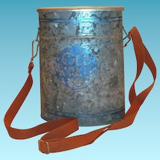 Old Pal Galvanized Minnow Bucket