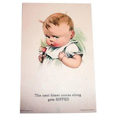 "Twelvetrees: ""The Next Kisser Comes Along Gets Biffed"" Postcard"