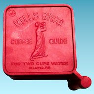 Hills Bros. Coffee Promotional Red Coffee Scoop