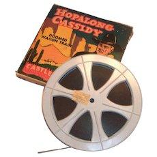 "Castle Films Hopalong Cassidy ""Doomed Wagon Train"" Film"