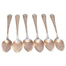 Oneida Silver Plate 1933 Chicago World's Fair Souvenir Spoon