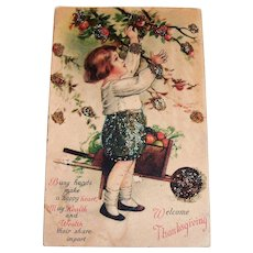 Wolf & Co.: Welcome Thanksgiving Postcard