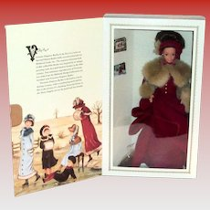 Victorian Style Elegant Barbie Doll In Original Box - 1994