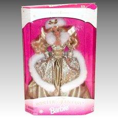 Winter Fantasy 1995 Barbie Doll in Original Packaging