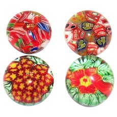 Small Millefiori Paperweight: Vintage