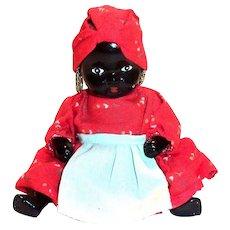 Black Americana: Black Porcelain Mammy Doll