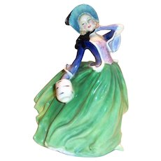 "Royal Doulton ""Autumn Breezes"" Bone China Figurine"