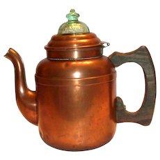 Rome 9 Cup Copper Perculator Coffee Pot
