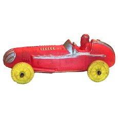 Auburn Toy Red & Yellow Race Car