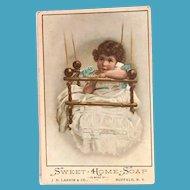 J.D. Larking & Co.: Sweet Home Soap Trade Card