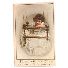 J.D. Larking & Co.: Sweet Home Soap Trade Card