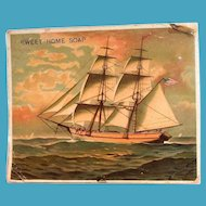 Sweet Home Soap Trade Card