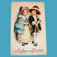 A Joyous Easter Postcard (All Dressed Up For Easter)