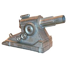 Toy Metal Cannon