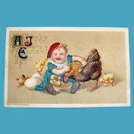 A Joyous Easter Postcard - Winsch