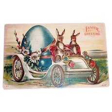 1908 Easter Greeting & Advertising Postcard