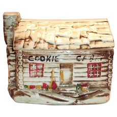 McCoy Cookie Jar Log Cabin