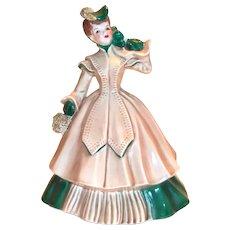 Calif. Pottery: Florence Ceramics: Matilda Figurine