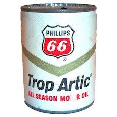 Phillips 66 Trop-Artic Oil Can Bank