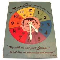 SIFO Timmy Time Color Wheel Clock Puzzle