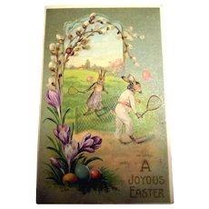 A Joyous Easter Postcard (Fantasy & Anthropomorphic)