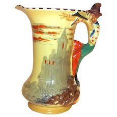 Burleigh Ware Pied Piper Pitcher