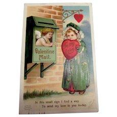 Valentine Mail - To My Love Postcard - Clapsaddle