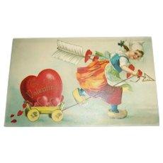 To My Valentine Postcard - 1909