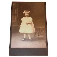 Victorian Style Little Toddler Girl Photograph