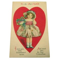 To The One I Love Postcard (Valentine's Day)