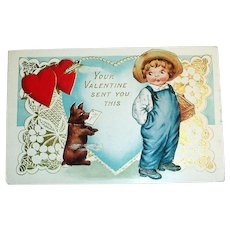 Whitney: Your Valentine Sent You This Postcard