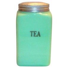 McKee Jadite Tea Canister